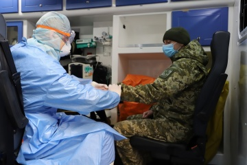 Ukrainian army reports 28 new coronavirus cases