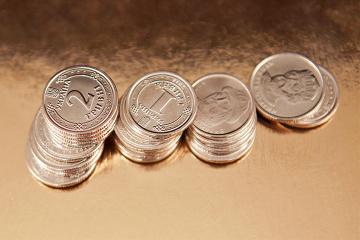 Narodowy Bank umocnił hrywnę na 20 kopiejek