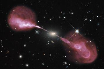 """Вчені вперше """"вловили"""" слід від зіткнення галактик"""