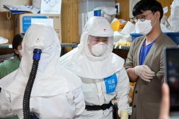 У Південній Кореї фіксують менше випадків коронавірусу