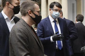 Razoumkov : le Parlement ukrainien tiendra une réunion extraordinaire le 13 avril