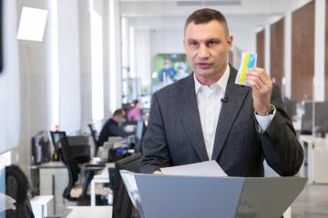 Vitaly Klitchko : 1 535 cas de coronavirus ont été confirmés à Kyiv