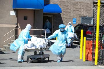 Coronavirus : Les États-Unis enregistrent un tragique record avec 2 569 morts en 24 heures
