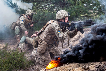 Ocupantes rusos atacan las posiciones de las Fuerzas Armadas de Ucrania cerca de Popasna