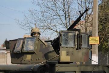Taktische Militärübung in der Westukraine gestartet