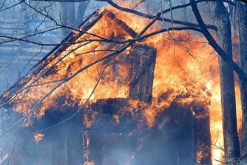 チョルノービリ立入制限区域の火災