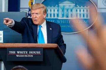 Трамп закликає генпрокурора США почати розслідування проти Байдена