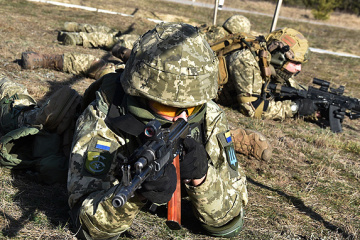 Invaders violate ceasefire in JFO area five times; one Ukrainian soldier wounded
