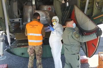 Servicio Estatal de Emergencia: Ucrania envía otro lote de ayuda humanitaria a Italia