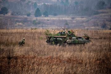 Un soldado ucraniano resulta herido en el Donbás