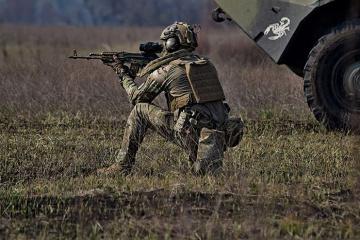 Okupanci w Donbasie 7 razy naruszyli zawieszenie broni - strzelali z moździerzy kalibru 82 mm i 120 mm