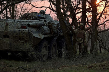 Russian-led forces violate ceasefire in Donbas four times