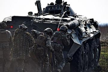 Donbass : Les troupes russes ont violé la trêve à 6 reprises