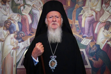 His All-Holiness Bartholomew, Archbishop of Constantinople-New Rome and Ecumenical Patriarch