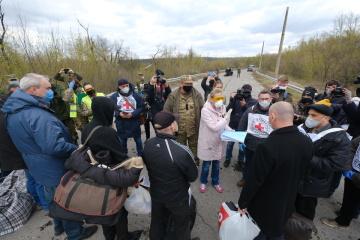 EU、OSCE、国連がウクライナ東部での被拘束者交換を歓迎