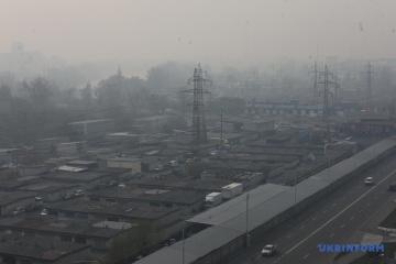 La pollution de l'air bat tous les records à Kyiv