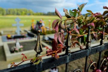 Cemeteries in Kyiv region closed until end of quarantine