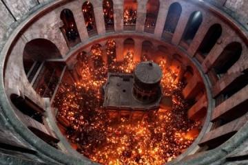 La Luz Sagrada se entregará a Ucrania según un procedimiento especial
