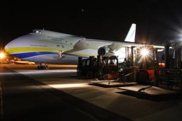 Der ukrainische Ruslan bringt nach Polen medizinische Fracht der NATO