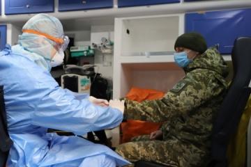 ウクライナ軍内の新型コロナ感染39件