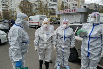 5月27日9時時点 ウクライナ国内新型コロナウイルス感染事例新たに321件確認 計2万1905件