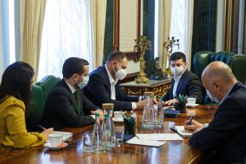 Zelensky y el Gobierno discuten programas de crédito para el negocio