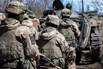 Invaders fire grenade launcher near Starohnativka