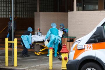 У Штатах — найвищий пік смертності від COVID-19 за весь час пандемії