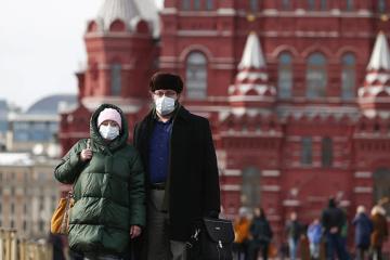 Кількість хворих COVID-19 в Росії наблизилась до 188 тисяч