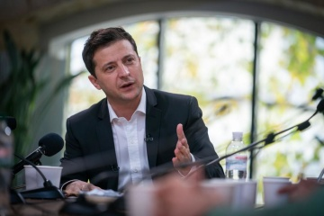 Zełenski zapewnił, że w okresie swojej kadencji zakończy wojnę w Donbasie