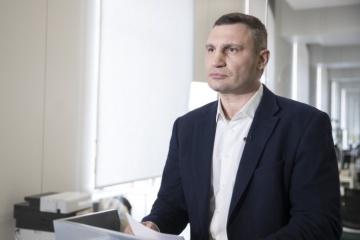Klichkó: Se confirman 2.359 casos positivos en coronavirus en Kyiv