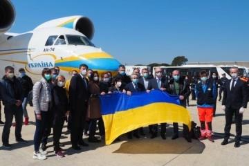 El ministro de Exteriores italiano agradece a los médicos ucranianos por su ayuda en el tratamiento del coronavirus