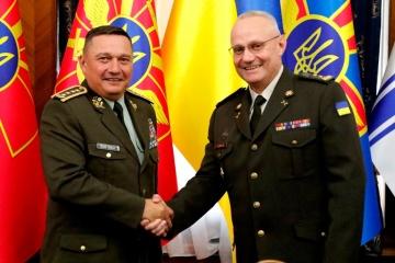 Befehlshaber der Streitkräfte der Ukraine und der Slowakei besprechen Verhinderung der Ausbreitung von COVID-19