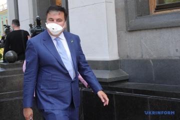 Zelensky nombra a Saakashvili presidente del Comité Ejecutivo de Reformas