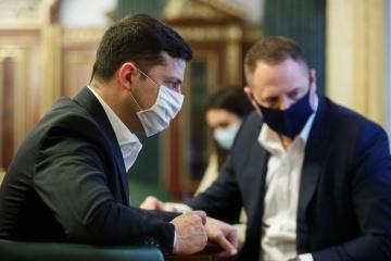 ゼレンシキー大統領、防疫期間の延長を説明