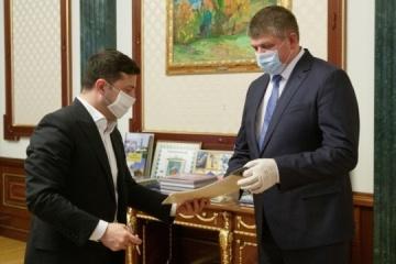 Zelensky appoints new chairman of Ivano-Frankivsk RSA