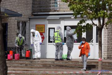 Ucrania suma 8.125 casos de COVID-19