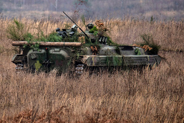 Invaders violate ceasefire in Donbas nine times; two Ukrainian soldiers wounded
