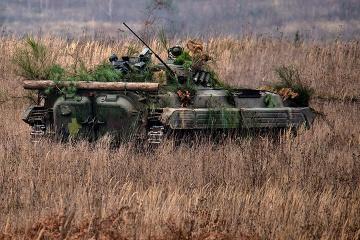 Cuatro violaciones del alto el fuego en el Donbás. Un soldado ucraniano herido