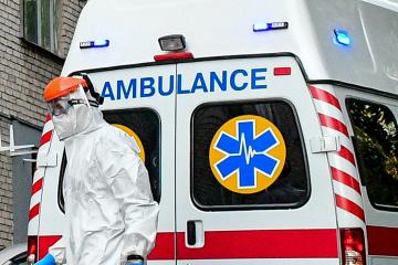 In Ukraine 5.469 neue Coronavirus-Fälle binnen des Tages