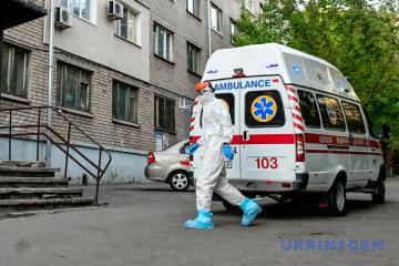 Ucrania confirma 9.009 casos de coronavirus