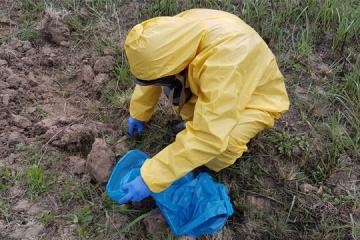 У Львові під час земляних робіт виявили ємності з ртуттю вагою 2,4 кг