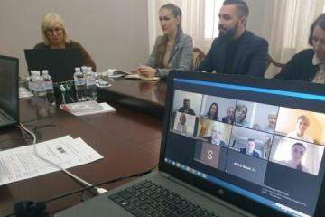 Denísova sostiene una reunión en línea con representantes del Consejo de Europa