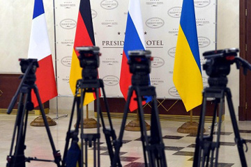 Reznikov: Only Normandy Four leaders can change Minsk agreements
