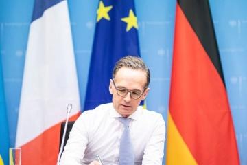 Maas: La pandemia no debería ser una excusa para no implementar las decisiones del Cuarteto de Normandía
