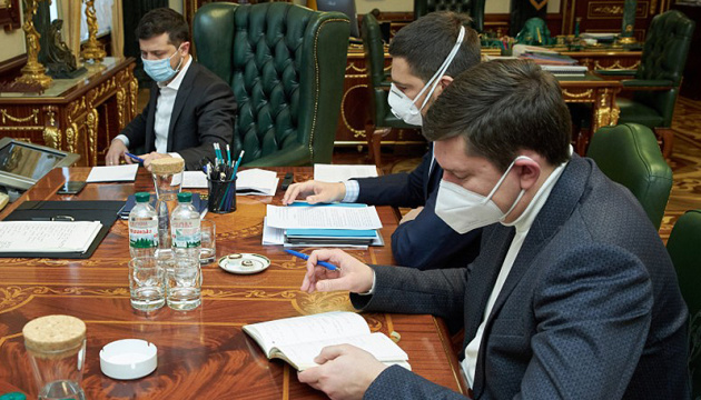 Zelensky signs law on social and economic guarantees during Covid-19 pandemic