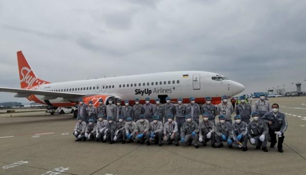 В Китае загрузили еще один самолет с медсредствами для Украины