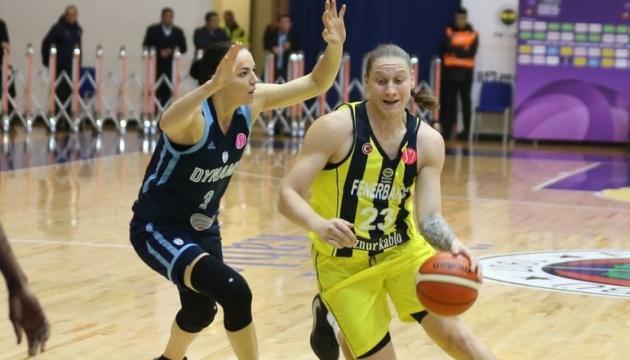 Украинка Ягупова лидирует в голосовании за лучшую баскетболистку сезона в Евролиге