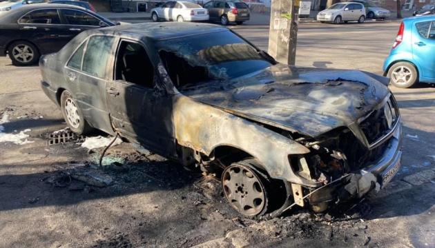 В Одесі спалили авто активіста