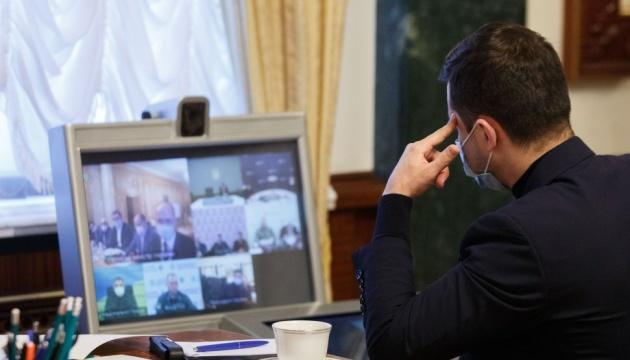 Зеленський провів нараду щодо безпеки українців під час Великодніх свят